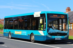 ARRIVA NORTH EAST 1307 YJ09EYL IS SEEN AT FRAMWELLGATE MOOR ON 17 JULY 2017 (47413PART2) Tags: yj09eyl arrivanortheast arriva bus nebuses