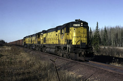 Big Century's at Lathrop (ac1756) Tags: cnw northwestern chicagonorthwestern alco c628 6730 lathrop michigan