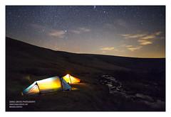 Tavy Cleave Tents (danielsgroves) Tags: tent tents glow stars night dartmoor longexposure astrophotography