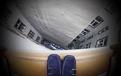 Vertigo (CoolMcFlash) Tags: vertigo pov perspective personal shoes high vignette canon eos 60d standing danger sigma 10mm fisheye building hoch schwindel blickwinkel perspektive schuhe stehen gefährlich gebäude hochhaus fotografie photography fenster window