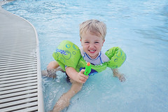 365 Project - July 13 (lupe1515) Tags: 365 project henry swimming pool squirt gun