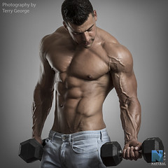 Santino Palazzo NFM (TerryGeorge.) Tags: natural fitness models abs six pack workout toned athletic muscle shirtless hunk