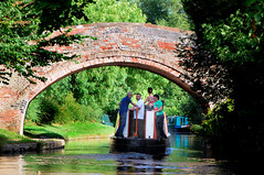 UNDER THE BRIDGE. (tommypatto : ~ IMAGINE.) Tags: canalboats canals shropshireunioncanal narrowboats