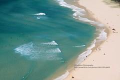 Byron Bay, Cape Byron (blauepics) Tags: australia australien landscape landschaft new south wales nsw byron bay cape kap beach strand sand water wasser clouds wolken turquoise türkis blue blau waves wellen bathing swimming baden schwimmen