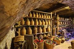 Cellar temptations (Meteora, Greece) (armxesde) Tags: pentax ricoh k3 greece griechenland meteora cloister kloster keller cellar monastery