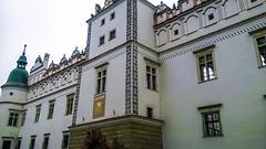 Baranów Sandomierski-zamek (marek&anna) Tags: poland baranówsandomierski architecture castle tower attic facade sundial gate portal window