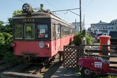 pity 801 (kasa51) Tags: train ruined ruty abandonend choshielectricrailway station 銚子電鉄 デハ801 1950(昭和25)年製造