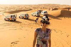 Jeep adventure (tesKing (Italy)) Tags: dubai emiratiarabi sandra uae desert sharjah emiratiarabiuniti ae
