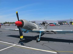 """Yakovlev Yak-50 1 • <a style=""""font-size:0.8em;"""" href=""""http://www.flickr.com/photos/81723459@N04/35238758144/"""" target=""""_blank"""">View on Flickr</a>"""