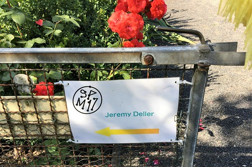 170717 053 Mühlenfeld allotment garden colony - Jeremy Deller, Speak to the Earth and It Will Tell You