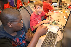 DSC_9265 (Caruth Institute for Engineering Education) Tags: stem programming scratch smu lyleengineering middle school raspberry pi