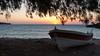 Sun rises behind Kasos island, Creta (booHguy) Tags: crete grece katozakros lieux paysages transports bateau coucherlever mer sunrise boat sun sea creta libyan