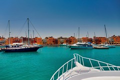Hurghada Blues (dvolic) Tags: hurghada egypt new marina harbour