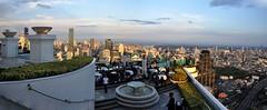 Bangkok 279-90 Panorama (SwissMike62) Tags: thailand bangkok city cityscape metropolis