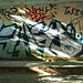 graffiti versus light