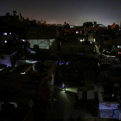 A general view of the Jabalia #refugee #camp, in the northern #Gaza Strip during a #power outage. (TeamPalestina) Tags: night instagram freepalestine palestinian sunrise sweet beautiful heritage photographer comfort natural تصويري palestine amazing innocent occupation landscape landscapes reflection blockade hope canon nikon
