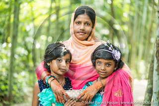 portrait of bangladeshi village people