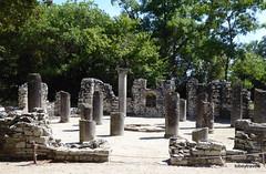 0014 Baptistry, Butrint (2) (tobeytravels) Tags: albania butrint buthrotum illyrian baptistry