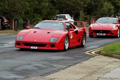 Ferrari F40 (stu norris) Tags: ferrari f40 ferrarif40 ferrari70 colchester essex lancasterferraricolchester supercar