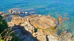 Klippen / Cliffs # 2 (schreibtnix on 'n off) Tags: reisen travelling europa europe frankreich france bretagne brittany breizh capfréhel meer sea küste coast klippen cliffs olympuse5 schreibtnix