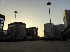 Una volta le fabbriche, ora uffici. Milano (diegoavanzi) Tags: milano milan italia italy lombardia lombardy architettura architecture moderna modern alba dawn bicocca sony hx300 bridge