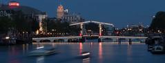 Magere brug - Amsterdam (valecomte20) Tags: nuit night nikon d5500 water rivere amsterdam magerebrug pont bridge