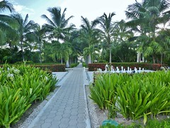Tulum (100) (G. Brar) Tags: dreams tulum resort spa mexico pathway palm trees checkers chess