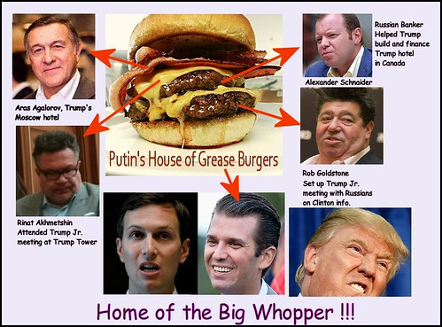Fat Burger Russia Connection. Yum!