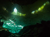 The forest echoes with laughter (altsaint) Tags: 714mm chacmool gf1 mexico panasonic cavern caverndiving cenote scuba underwater