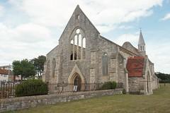 Portsmouth, Hampshire #5 (adamnwylds) Tags: portsmouth hampshire england city southengland buildings builtup englandsouthcoast uk southuk southeastuk church old ruined stone architecture