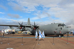 IMG_0563 (routemaster2217) Tags: royalinternationalairtattoo riat2017 raffairford aircraft airshow airbase airdisplay aviation c130hercules israeliairforce lockheedmartinc130j30 transportplane cargoaircraft 667