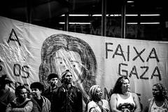 (Zé Andrade) Tags: protestobrasilsãopauloruafotojornalisto art fotografica documental rua são paulo pb pedro e branco