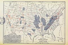 United States' Products (sjrankin) Tags: illustration map historic 20july2017 edited library britishlibrary commerce products minerals mining economy unitedstates