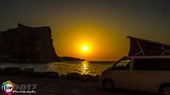 Rise and shine (James Hislop Coleraine) Tags: surfer spain vw camper moraira costa blanca sunrise sea tourer beach nikon d5100
