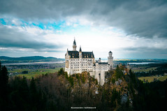 Neuschwanstein (Nitramib) Tags: neuschwanstein germany europe clouds castle castillo travel travelaroundtheworld aroundtheworld