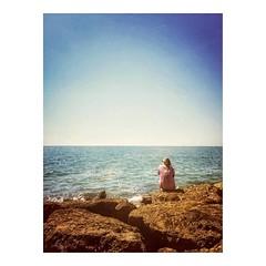 Meditating on the horizon _ Meditando en el horizonte • • #meditation #horizon #spiritual #instasky #spirituality #mindfulness #meditate #iskyhub #ocean #awakening #loveandlight #insta_sky_lovers #ignaturale #instabeach #oceano #silhouette #sea #horizon_o (IMARCHI) Tags: meditating horizon meditando en el horizonte • meditation spiritual instasky spirituality mindfulness meditate iskyhub ocean awakening loveandlight instaskylovers ignaturale instabeach oceano silhouette sea horizonoverwater water tranquilscene scenics clearsky realpeople tranquility rock sunlight rearview imarchi imarchicom photographer fotografo madrid spain photography photo foto iphone phoneography iphoneography mobile eyeem instagram