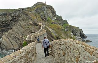 Caminito. San Juan de Gaztelugatxe.