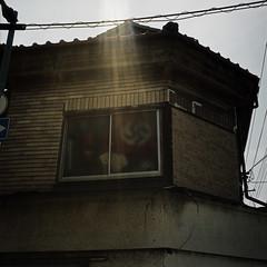 (angex) Tags: japan osaka hasselblad 6x6 swastika