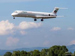 McDonnell Douglas MD-82 LZ-LDN (airliners.sk, o.z.) Tags: airport poprad tatry popradtatry lztt lztttat tat charter airlinerssk bulgarian air buc md82 mcdonnell douglas lzldn