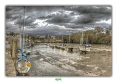 CAERNARFON HARBOUR (régisa) Tags: harbour caernarfon port plaisance bateau ship boat wales galles cymru gwynedd