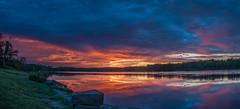 DSC04400-Pano (johnjmurphyiii) Tags: 06416 clouds connecticut connecticutriver cromwell dawn originalarw riverroad riverportpark sky sonyrx100m5 summer sunrise usa johnjmurphyiii