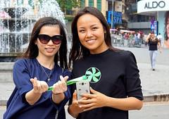 Smiling Girls in the Street (Alex88 - Thanks for 77 Million Views) Tags: hanoi vietnam smiles brunette beauty girls women ladies