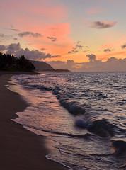 Sunset, Aweoweo Beach Park (Steven W Lum) Tags: sunset oahu hawaii northshore northshoreofoahu