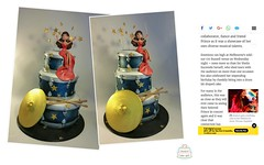 DRUM AND PERCUSSION CAKE FOR SHEILA E CAKE  8801080 (www.creativecakeart.com.au) Tags: a tiered drum cake with symbols sticks it was presented sheila e concert melbourne musocake drummers reativecakeart birthdaycakes edibleart cakedesign likeforlike melbournecakes brunswick noveltycakes cakesculpture party celebration creativecakeart noveltycakesmelbourne custommadecakes amazingcakesmelbourne designercakes creativecakes artisticcakes novelty cakes artistic amazing melboune designer bespoke custom made