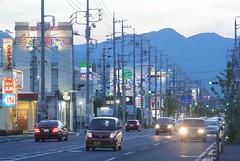 yokkaichi5229 (tanayan) Tags: mie japan yokkaichi nikon j1 三重 四日市 日本 evening road street alley