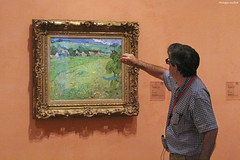 """""""Les Vessenots à Auvers"""", de Vincent Van Gogh (philippeguillot21) Tags: musée museum vangogh thyssenbornemisza madrid espagne spain europe"""