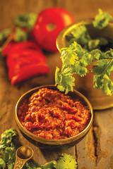 Tomato chutney (Akhil G) Tags: kitchen india andhra telugu veg food indian cuisine recipe culinary canon 100mm photography cookbook tomato chutney