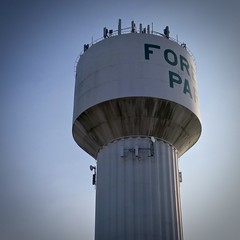 Forest Park (Crawford Brian) Tags: forestpark illinois watertower midwest rust urban