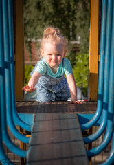 Climbing Frame (Wayne Cappleman (Haywain Photography)) Tags: wayne cappleman haywain photography toddler king george fifth park farnborough hampshire