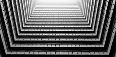 Ping Shek Estate in black and white: part 4 (jbarry5) Tags: pingshekestate hongkong hongkongarchitecture blackandwhite monochrome geometry abstract